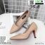รองเท้าคัชชู วัสดุหนังPU K9336-PNK [สีชมพู] thumbnail 3
