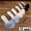รองเท้าส้นสูงแบบสวมขนเฟอร์ ST6191-BLK [สีดำ] thumbnail 5