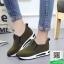 รองเท้าผ้าใบไร้เชือกสีน้ำตาล แนวสตรีท (สีน้ำตาล ) thumbnail 2