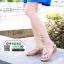 รองเท้าส้นเตารีด แบบหนีบ SM9032-CRM [สีครีม]