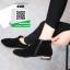 รองเท้าบูท สักหราดสั้น G20-BLK [สีดำ] thumbnail 3