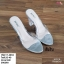 รองเท้าส้นสูง ส้นแก้ว 17-4094-SIL [สีเงิน] thumbnail 2