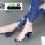 รองเท้าลำลอง สไตล์ maxi RU45-BLU [สีน้ำเงิน] thumbnail 2