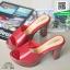 รองเท้าส้นสูงเปิดส้นสีแดง Muless Heels Shoes (สีแดง ) thumbnail 3