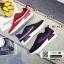 รองเท้าผ้าใบสไตล์เกาหลี IM0223-NAVY [สีกรม] thumbnail 4