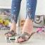 รองเท้าแตะหน้า H J332-GREY [สีเทา] thumbnail 1