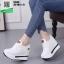 รองเท้าผ้าใบเสริมส้น ST526-WHI [สีขาว] thumbnail 1