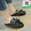 รองเท้าส้นเตี้ยสีดำ สไตล์กุชชี่ (สีดำ ) thumbnail 4