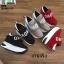 รองเท้าผ้าใบเสริมส้น งานนำเข้า100% ST09-RED [สีแดง] thumbnail 5