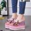 รองเท้าแบบสวมส้นเตารีด ST05-PNK [สีชมพู] thumbnail 2