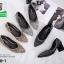 รองเท้าคัทชูหัวแหลมสีดำ แต่งกริตเตอร์ (สีดำ ) thumbnail 4