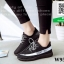 รองเท้าผ้าใบ ทรงสปอร์ต W950-BLK [สีดำ] thumbnail 1