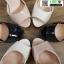 รองเท้าส้นสูงรัดข้อเปิดหน้าหลัง 18-1331-CRM [สีครีม] thumbnail 4