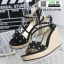 รองเท้าส้นเตารีดสวยเกร๋ 15198-BLACK [สีดำ] thumbnail 2