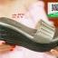 รองเท้าส้นเตารีดสีเทา สไตล์ลำลอง (สีเทา ) thumbnail 4