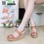รองเท้าแตะพียู ส้นโฟม รัดส้น PU6101-BRN [สีน้ำตาล] thumbnail 1