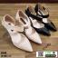 รองเท้าคัชชูหุ้มท้ายส้นเข็ม K9340-CRM [สีครีม] thumbnail 4