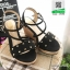 รองเท้าเตารีด แต่งหน้ามุกสีทอง 15198-BLACK [สีดำ] thumbnail 3