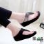รองเท้าสุขภาพเสริมบุคลิกภาพ 317-1-ดำ [สีดำ] thumbnail 2