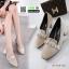 รองเท้าคัชชู miumiu กำหยี่ 7785-60-KHA [สีกากี] thumbnail 3