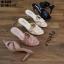 รองเท้าส้นสูงแบบสวม 18-3449-BLK [สีดำ] thumbnail 4