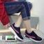 รองเท้าผ้าใบสไตล์เกาหลี IM0223-NAVY [สีกรม] thumbnail 1