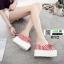 รองเท้านำข้าสไตล์เกาหลี ทรงเตารีด 0712-RED [สีแดง] thumbnail 3