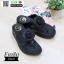 รองเท้าสุขภาพ ฟิทฟลอปหนีบ แต่งดอกไม้ F1080-BLK [สีดำ] thumbnail 5