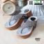 รองเท้าเพื่อสุขภาพ พียู หนีบ PU6130-GRY [สีเทา] thumbnail 2