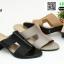 รองเท้าแตะแบบสวม สไตล์แบรนด์ดัง 26-32-KHA [สีกากี] thumbnail 2