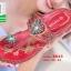 รองเท้าแตะแฟชั่นสีแดง Flowery Sandals (สีแดง ) thumbnail 2