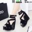รองเท้าหุ้มส้นทรงเตารีด ST17-BLK [สีดำ] thumbnail 2