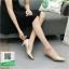 รองเท้าคัทชูส้นสูงสีทอง หัวแหลม ผ้าซาติน (สีทอง ) thumbnail 1