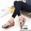 รองเท้าส้นเตารีดรัดข้อ หนังเงา 7797-4-ตาล [สีตาล] thumbnail 5