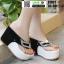 รองเท้าหูคีบส้นเตารีด ST821-BLK2 [สีดำ] thumbnail 2