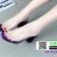 รองเท้าลำลองแบบสวม ทรง maxi JO-023-PUR [สีม่วง] thumbnail 2