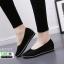 รองเท้าผ้าใบลำลอง 505777-BLK [สีดำ] thumbnail 4