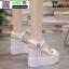 รองเท้าทรงเตารีดแบบรัดข้อ ST9-WHI [สีขาว] thumbnail 3
