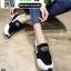 รองเท้าผ้าใบเสริมส้น งานนำเข้า100% ST3-WHI [สีขาว] thumbnail 2