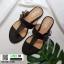 รองเท้าแตะหูหนีบ เท็กซ์เจอร์ลายเสือ G-1408-BLK [สีดำ] thumbnail 4