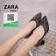 รองเท้าคัทชูหัวแหลมสีดำ แต่งกริตเตอร์ (สีดำ ) thumbnail 1