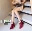 รองเท้าบูทหัวแหลม 0808-P-RED [สีแดง] thumbnail 3