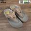 รองเท้าแตะรองเท้าสุขภาพแบบหูคีบ TA106-GLD [สีทอง] thumbnail 2