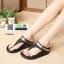 รองเท้าเพื่อสุขภาพฟิทฟลอป แบบหนีบ คาดเข็มขัด L2092-BLK [สีดำ] thumbnail 2