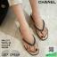 รองเท้าแตะคีบสายโซ่ J317-CRM [สีครีม] thumbnail 1