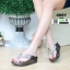 รองเท้าส้นเตารีด style fitflop แบบคีบ F1110-GRY [สีเทา] thumbnail 1
