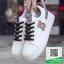 รองเท้าผ้าใบแฟชั่นสีขาว กรีนนูนหมีmoschino (สีขาว ) thumbnail 4