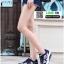 รองเท้าผ้าใบ แบบเสริมพื้นลายดอก W803-DBLU [สีน้ำเงินเข้ม] thumbnail 3