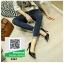 รองเท้าคัทชูส้นเข็ม Givenchy 3357-BLK [สีดำ] thumbnail 4
