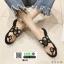 รองเท้าแตะแฟชั่น ฉลุลาย อะไหล่กลม N811-BLK [สีดำ] thumbnail 5